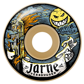 Spitfire SKATE WHEELS F4 101 JARNE MOONSHINE, 53mm