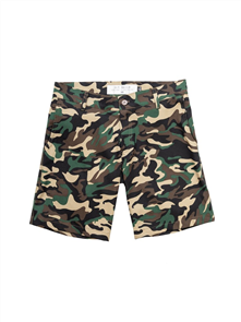 Sly Guild Camo Port Short, Military