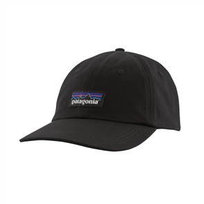 Patagonia P-6 Label Trad Cap, Black