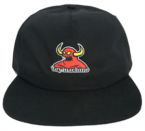Toy Machine Monster Cap, Black