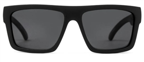Carve Volley Recycled Polarised Sunglasses, Black