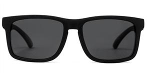 Carve Goblin Recycled Polarised Sunglasses, Black