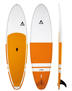 Adventure Paddle Allrounder MX Molded SUP Board, Orange