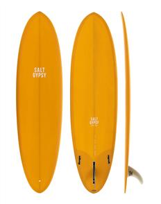 Salt Gypsy Surfboards & SUP Mid Tide Mustard Tint Surfboard