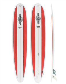Walden Magic Model PU Longboard, Red
