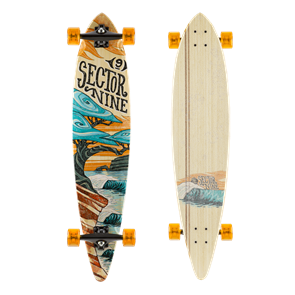 "Sector 9 Longboards Eclipse Bonsai (42.0"" x 9.3"" WB - 28.75"")"