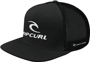Rip Curl Mens Rip Team Snap Back Trucker, Black