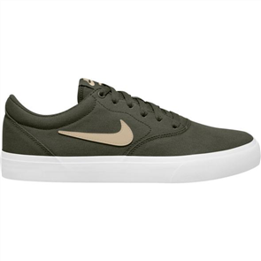 Nike SB Charge Canvas Shoe, Cargo Khaki/ Grain