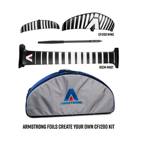 Armstrong Foils CF1200 Wing + 85cm Mast Foil Kit, Create your custom combo