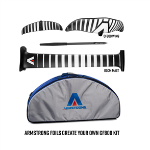 Armstrong Foils CF800 Wing + 85cm Mast Foil Kit, Create Your Custom Combo