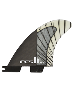 FCS II Reactor PCC Carbon Charcoal Medium Tri Retail Fins