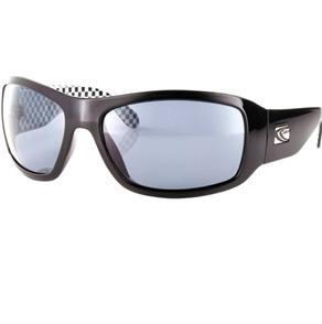 Carve CHECKMATE Polarised Sunglasses, Black