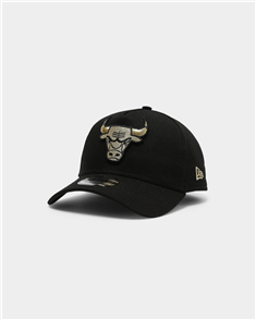 New Era 940AF CHICAGO BULLS Q121 CAP, BLK GLD