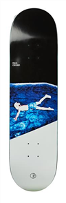Polar Paul Grund - Midnight Dip Deck, Size 8.125""