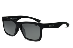 Liive Clash Polarized Sunglasses, Matt Black