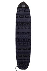 Creatures Of Leisure Longboard Navajo Surfboard Sock , Charc Black