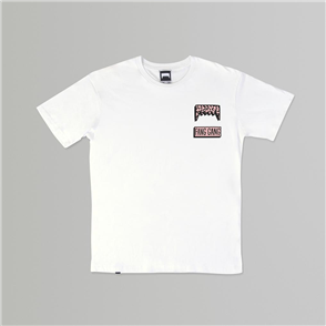 Fang Gang STREET BEAT TEE, White
