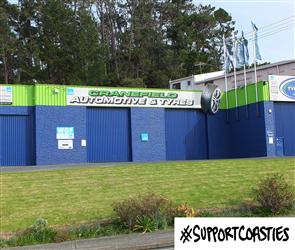 Support Coasties Cranefield Automotive and Tyres ltd - Voucher
