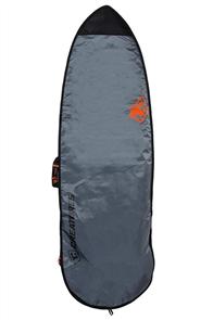 Creatures Of Leisure Fish 3mm Foam Lite Bag, Charcoal Orange