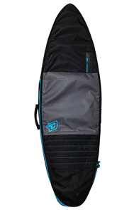 Creatures Of Leisure Shortboard Day Use Board Bag, Charcoal Cyan