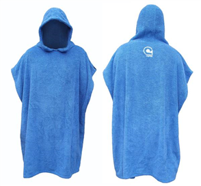Curve El Poncho Jr Surf Change Robe - Youth, Blue