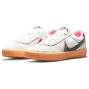 Nike SB Bruin React T Shoe, SUMMIT WHITE/BLACK-BRIGHT CRIMSON