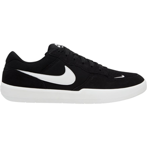 Nike SB FORCE 58 SHOE, BLACK/WHITE-BLACK