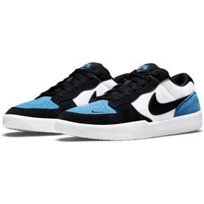 Nike SB Force 58 Shoe, DUTCH BLUE/BLACK-WHITE