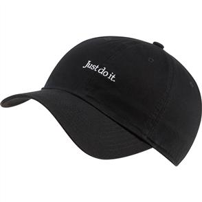 Nike Sportswear Heritage86 Adjustable Hat, BLACK/WHITE
