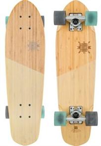 "Globe Blazer Skate Longboard, Bmaboo Almond, 26"" x 7.25"""