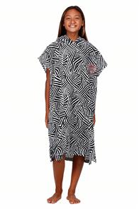 Billabong Teen Sun Tribe Hooded Towel, Blackout