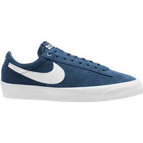 Nike SB ZOOM BLAZER LOW PRO GT SHOE, COURT BLUE/WHITE-COURT BLUE