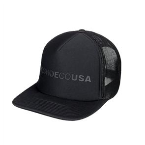 DC Lieberson Snap Trucker Cap, Black