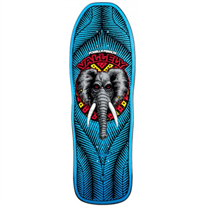 Powell Peralta Vallely Elephant Re-Issue Deck, Blue
