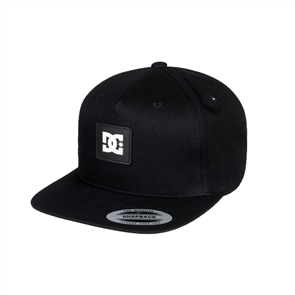 DC Snap Doodle By Snapback Cap, Black Youth
