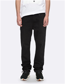 DC WORKER STRAIGHT PANT, Black Rinse