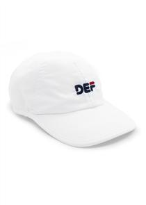 Def Bubblehead Dad Sport Cap, White