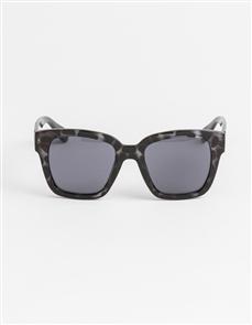 Stella + Gemma Damsel Boston Sunglasses, Grey Leopard