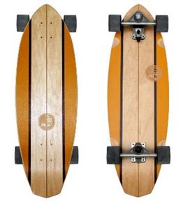 """SLIDE Diamond Waimea 32"""" Surf Skateboard"""