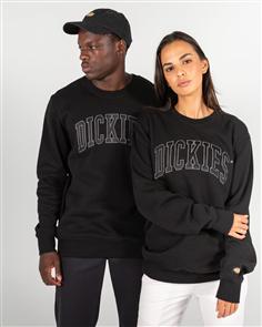 Dickies GAIL CREW NECK SWEATER, BLACK