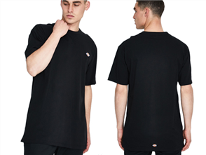 Dickies H.S ROCKWOOD  Fit Short Sleeve Tee, Black
