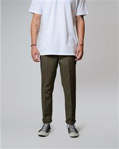 Dickies We872 Slim Tapered Fit Pant, Olive Green