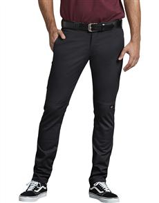 Dickies K3150901 918 Slim Fit Double Knee Work Pant, Black