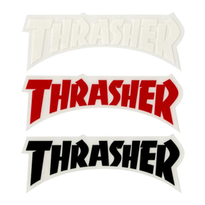 Thrasher Logo Die Cut Sticker, Assorted