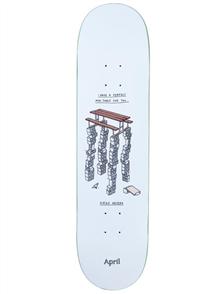 April Skateboards Diego Najera Perfect Mini Table, 8.25