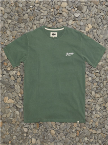 Just Another Fisherman DINGHY SHORT SLEEVE TEE, WASHED GREEN