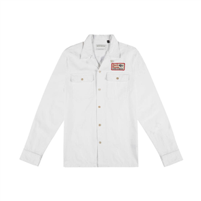 Deus Station Shirt, Vintage White