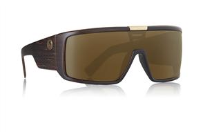 Dragon Domo Sunglasses, Matte Woodgrain Copper Ion