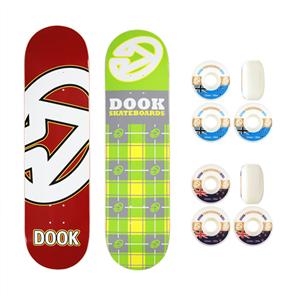 DOOK COMBO1 - 2 Decks & 2 Wheels (Excluding Grip)