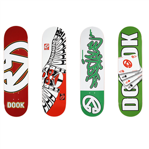 """DOOK 4x DECK 8'0"""" WITH GRIP COMBO"""